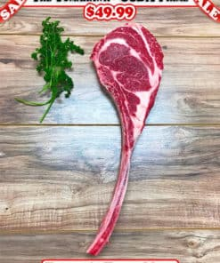Prime Tomahawk Ribeye Steak
